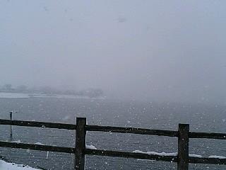 雪の砂沼1